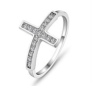 925 Sterling Silver Lady Anello