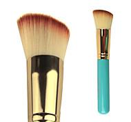 1 Grundlagen Pinsel Künstliches Haar Antibakteriell / Transportabel Holz Gesicht Andere
