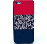 Leopard Flag Pattern Hard Case for iPhone 5C