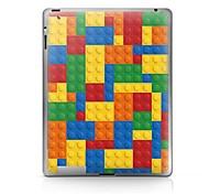 Caixa de Cores Padrão Etiqueta protetora para iPad 1/2/3/4