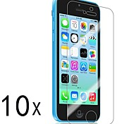 [10-Pack] Premium High Definition Clear Screen Protectors for iPhone 5C