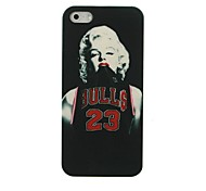 Basketball Clothes Monroe Pattern Hard Case for iPhone 5/5S