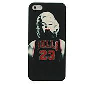 Basketball Kleidung Monroe Muster Hülle für das iPhone 5/5S