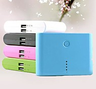 7200mAh Concise Designed Portable Power Bank External Battery with Micro USB Cable (Assorted Color)
