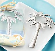 Palm Breeze Chrome Palm Tree Bottle Opener,W10.5cm xL8cm