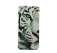 Half Face Snow Leopard Muster Hülle für das iPhone 5/5S