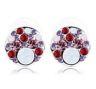 Women's Dazzle Colour Earrings Made with Swarovski Elements