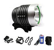 FJQXZ Night Vision Outdoor Cycling Headlight Set(White Light/4400 mA)