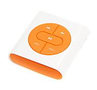 multifuncional hodômetro mp3 esporte rastreador de calorias com cabo USB, fone de ouvido e um pequeno clipe