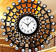 """22.4""""Modern Style Net-shape Wall Clock with Drill"""