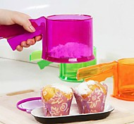 Colorful Plastic Handheld Sift Flour(Assorted Color)