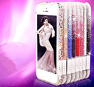 Toophone® JOYLAND Gradient Color Acrylic Beads Plastic Bumper Frame for iPhone 5/5S