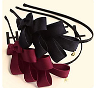 Korea Multilayer Solid Bow Headbands