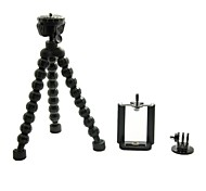 Universal Portable Stand Holder Octopus Tripod with Tripod for Cellphone / Digital Camera/Gopro Hero 3+/3/2