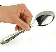 colher truques de mágica close-up dobrar prop magia