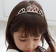 Corea Girls Cute Princess Diamante Crown Headband