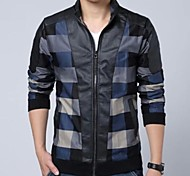 Men's Stand Collar Fashion Casual Jacket