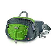 MOUNTAINTOP 8L Terylene Green Outdoor Breathbale Cycling Waist Bag Chest Bag