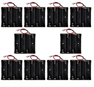 Hotsale CM01 Professional DIY Capless 4 X 18650 Battery Holder Case Box with Lead/Line (10 PCS)