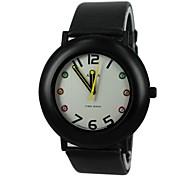 Children's Color Diamond PU Band Quartz Wrist Watch(Assorted Colors)