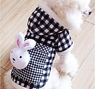 New Bobo Plaid in Rabbits for Pet Dogs(Assorted Size)