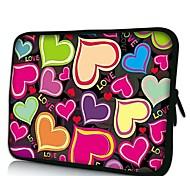 Elonno Liebe Neopren-Laptop-Hülsen-Kasten-Beutel-Beutel-Abdeckung für 15'' MacBook Pro Retina Dell HP Acer