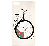 Nice Bike Pattern PC Back Case for iPhone 5C