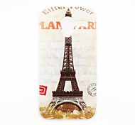Kinston Paris Tower Pattern Plastic Hard Case for Motorala Moto X
