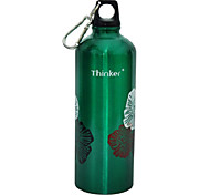 Thinker 700ml Green Stainless Steel Warm Keeping Sports Water Bottle