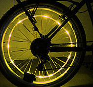 YELVQI PC Yellow Coil Lamp Cycling Hot Wheel