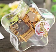 Spirited Away Five-Pointed Star Transparent Muisc Box