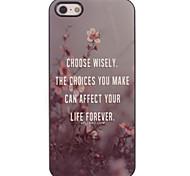 Wählen Sie mit Bedacht harter Fall für iPhone 4/4S Design Aluminium