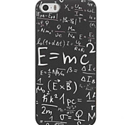 Functions  Formula Design PC Hard Case for iPhone 5/5S