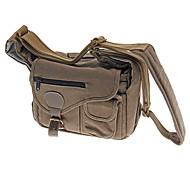 bolsa de lona para BB48 universales cámara 27 x13 x23 cm (gris-negro, marrón)
