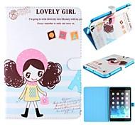 Lovely Girl Design Case for iPad mini 3, iPad mini 2, iPad mini