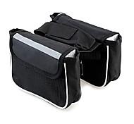 TANLU 1680D Polyester and Mesh Black Cycling Frame Bag