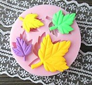 "Four Leaves Shaped Bake Fondant mould,L2.8""xW2.8""xH0.4"""