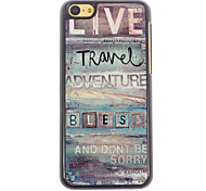Live Travel Design Aluminium Hard Case for iPhone 5C