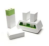trun14809 5000mAh interchangeableexternal зарядное устройство для Ipad, Iphone и др.