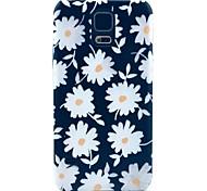 schöne Gänseblümchen-Muster Hard Case für das Samsung Galaxy i9600 s5