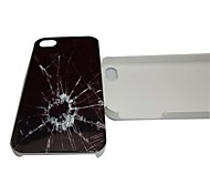 Beautiful Glass Pattern PC Back Case for iPhone 4/4S