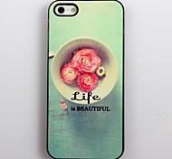 La vida es bella Hard Case Design aluminio para el iPhone 4/4S