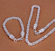 lureme®vintage insieme dei monili del nastro (braccialetto& collana)