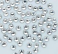 1440pcs 2 mm de cristal brillo decoración del arte del clavo del rhinestone