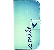 Smile Butterfly Pattern Soft Case for Samsung Galaxy Core I8262