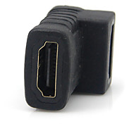HDMI V1.4 F/F 90-Degree Connector/Extension Joint