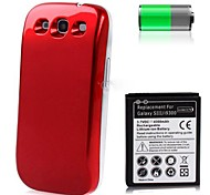 4300mAh Replacement Lithium-ion Battery+Back Cover for Samsung I9300 Galaxy S3