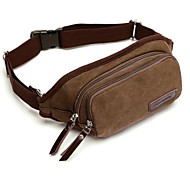 Outdoors Man's Fashional Brown Canvas Bag