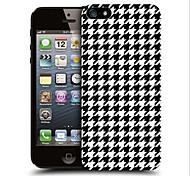 vormor® schwarze Hahnentritt-Muster unterstützen stark Fallabdeckung für iphone 4 / 4s