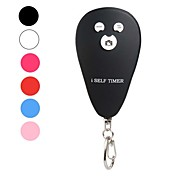 Key Buckle Design Wireless Bluetooth Shutter Controller for iPhone 5 and Others (Assorted Colors)
